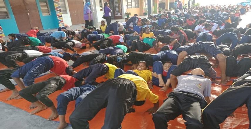 SJK(T) Mahathma Gandhi Kalasalai, Sg Siput, Perak. 10.07.2019 (3)